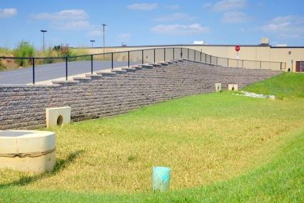 Block Paver Retaining Wall