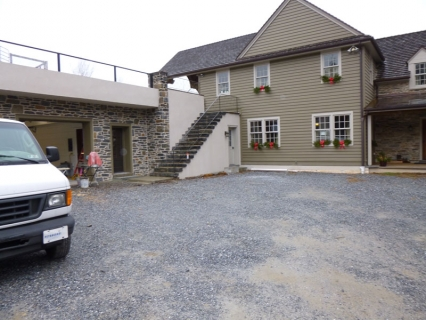 Driveway before Pavers installed