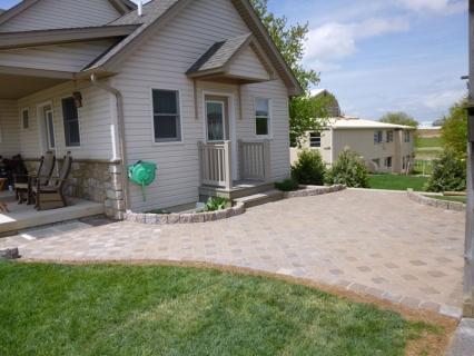 Paver patio/walkway